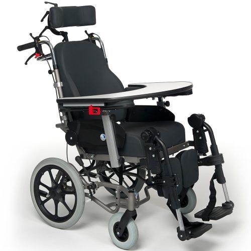 高背後躺輪椅